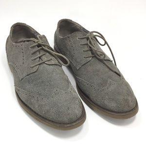Men's Faxon Suede DK Charcoal Shoes